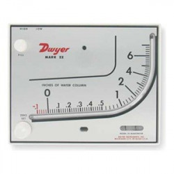 DIFFERENTIAL PRESSURE GAUGE DWYER MARK-II