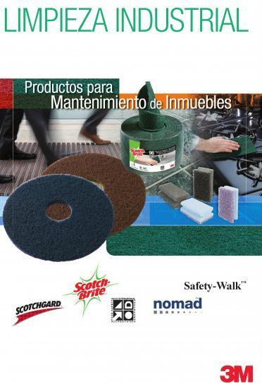 3m limpieza industrial