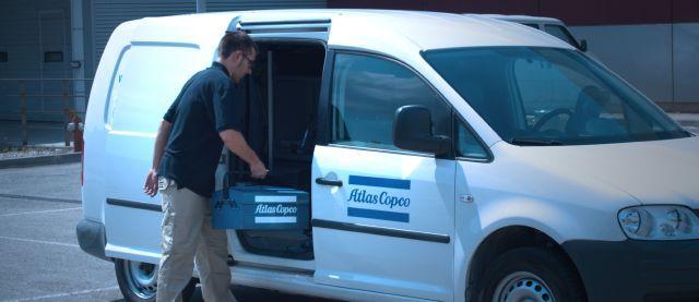 Atlas Copco premio al mejor servicio tecnico