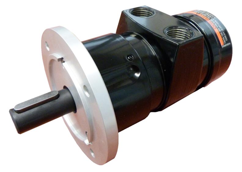 Motor neumatico de aletas de transmision directa
