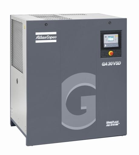Compresor Atlas Copco GA30 VSD de tornillo
