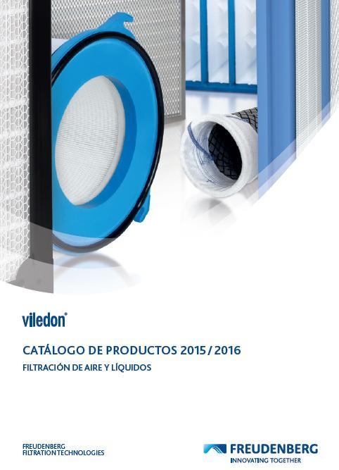 Viledon filter Catalog (Spanish)