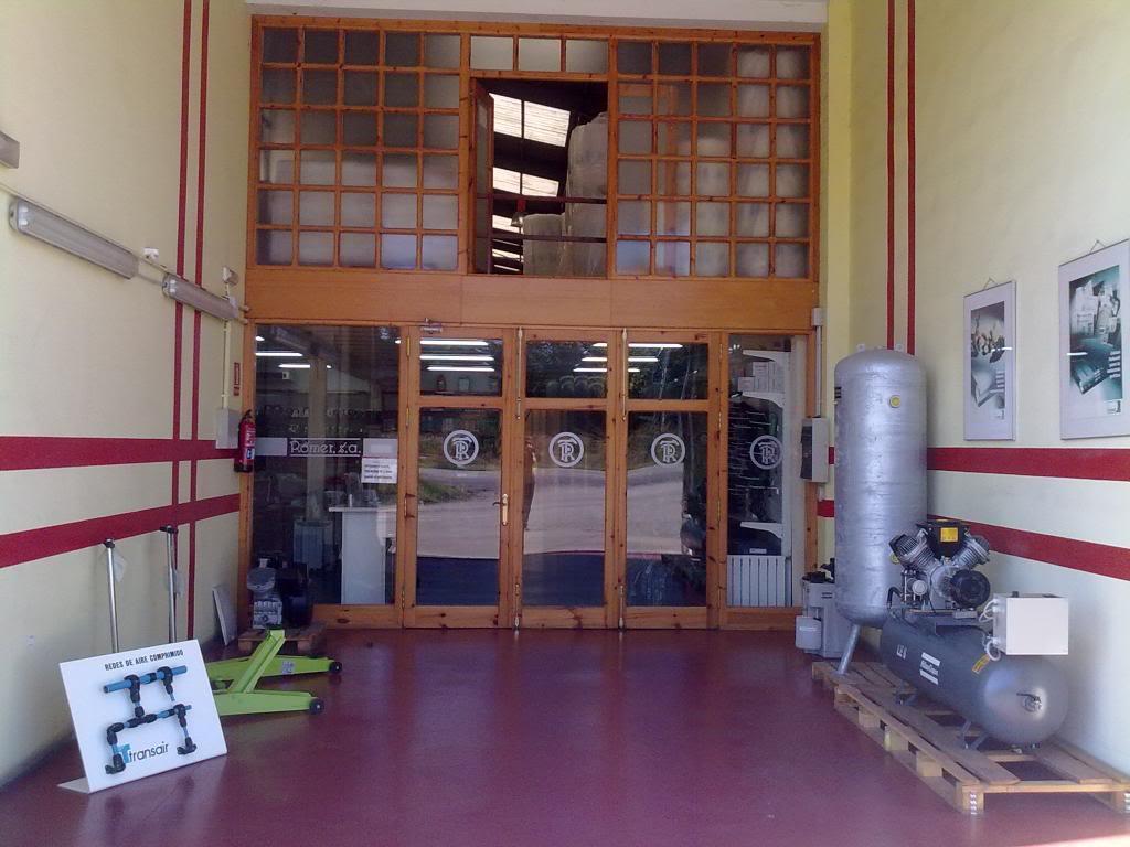 Detalle fachada Romer en Viella