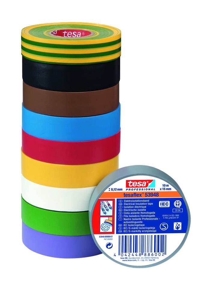 Gama de cintas aislantes tesa
