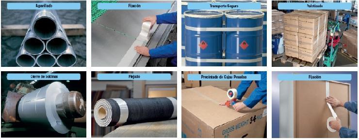 Ejemplos de uso de cintas de fleje